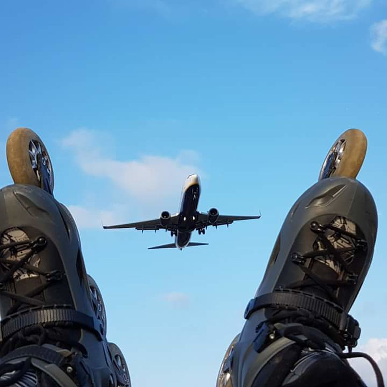Deporte Avion Patines