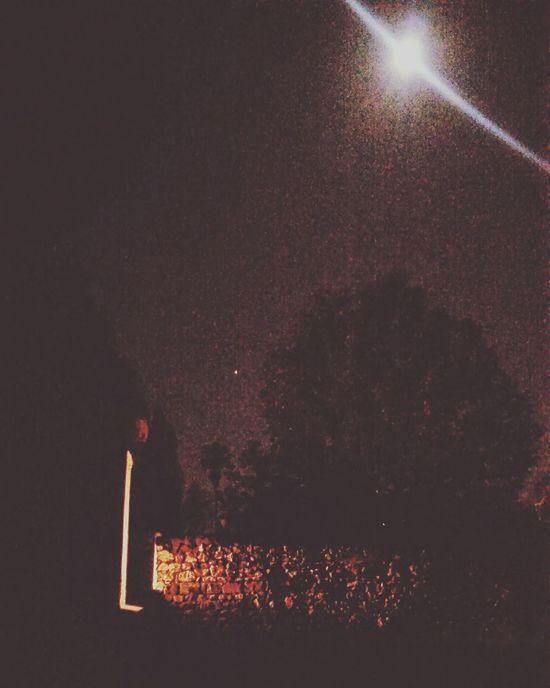 Starry Night Night Moon