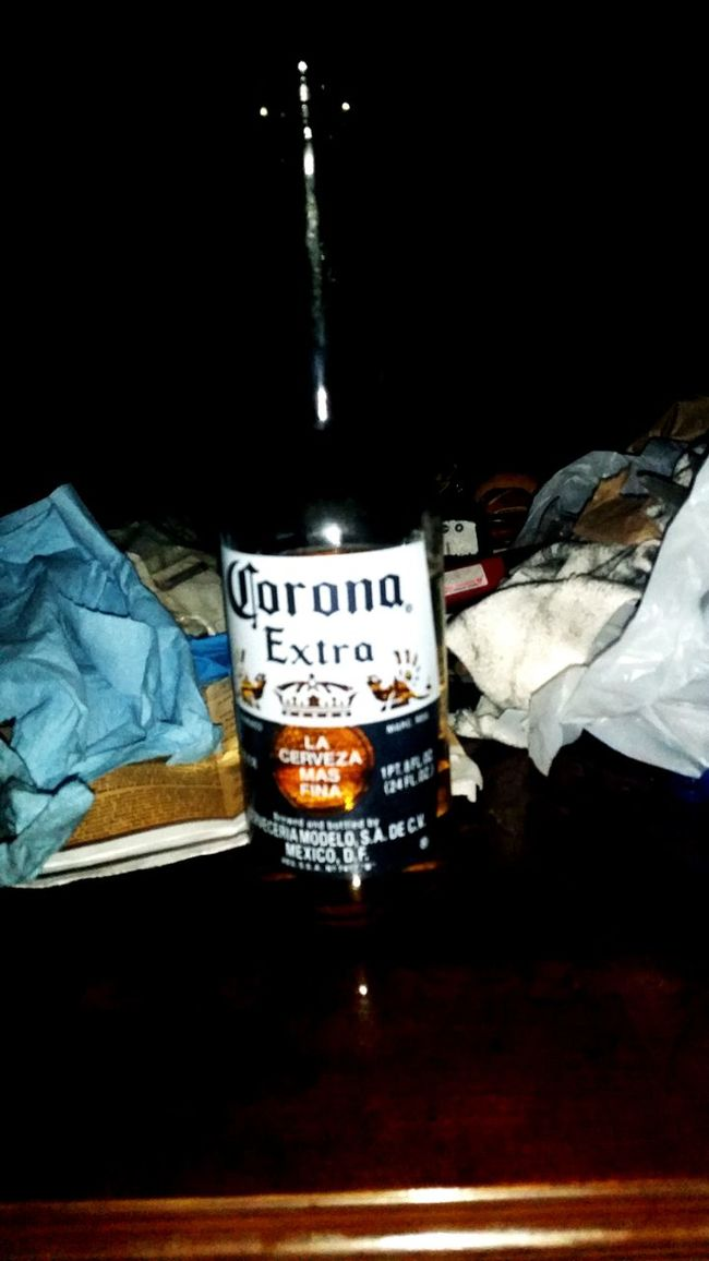 nothing like corona in a rainy day.. Like Today!! 0)Relaxing First Eyeem Photo