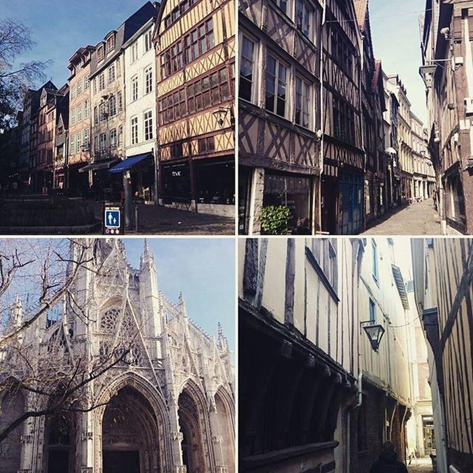 Rouen Magnific Magnifique Monument Rouen Centreville Downtown Beautiful Monument Normandie Normandy Street Rue Straße