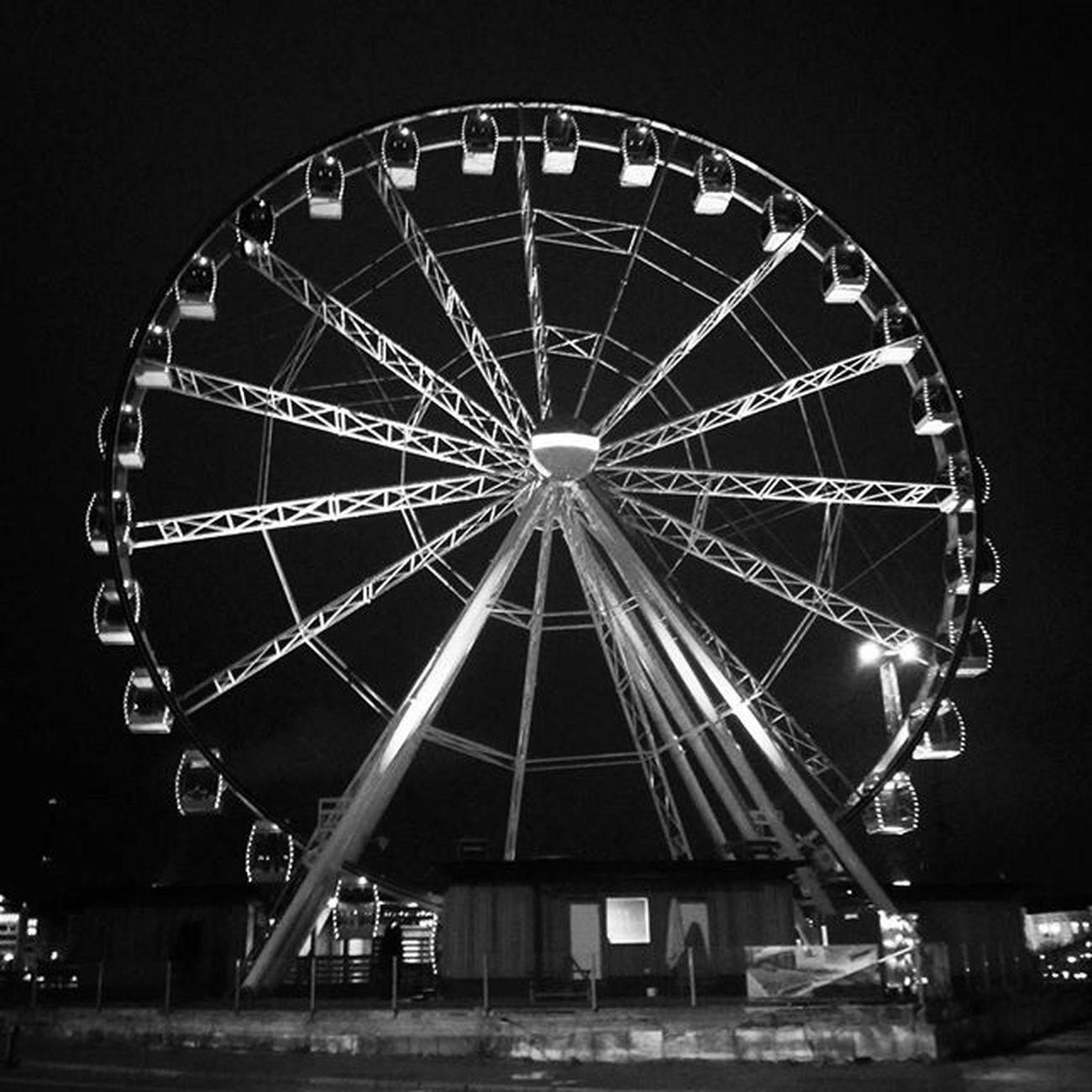 The Wheel Thisisfinland Helsinki Blackandwhite Monochrome Moodygrams Finland Suomi Helsinkiofficial Urban Ferriswheel
