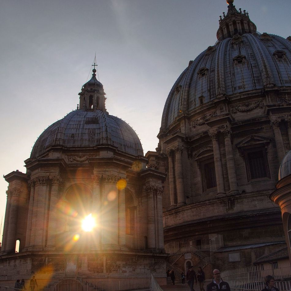 Hellooo Eyem !  Sunset Lovers Vaticano Rome Enjoy The View