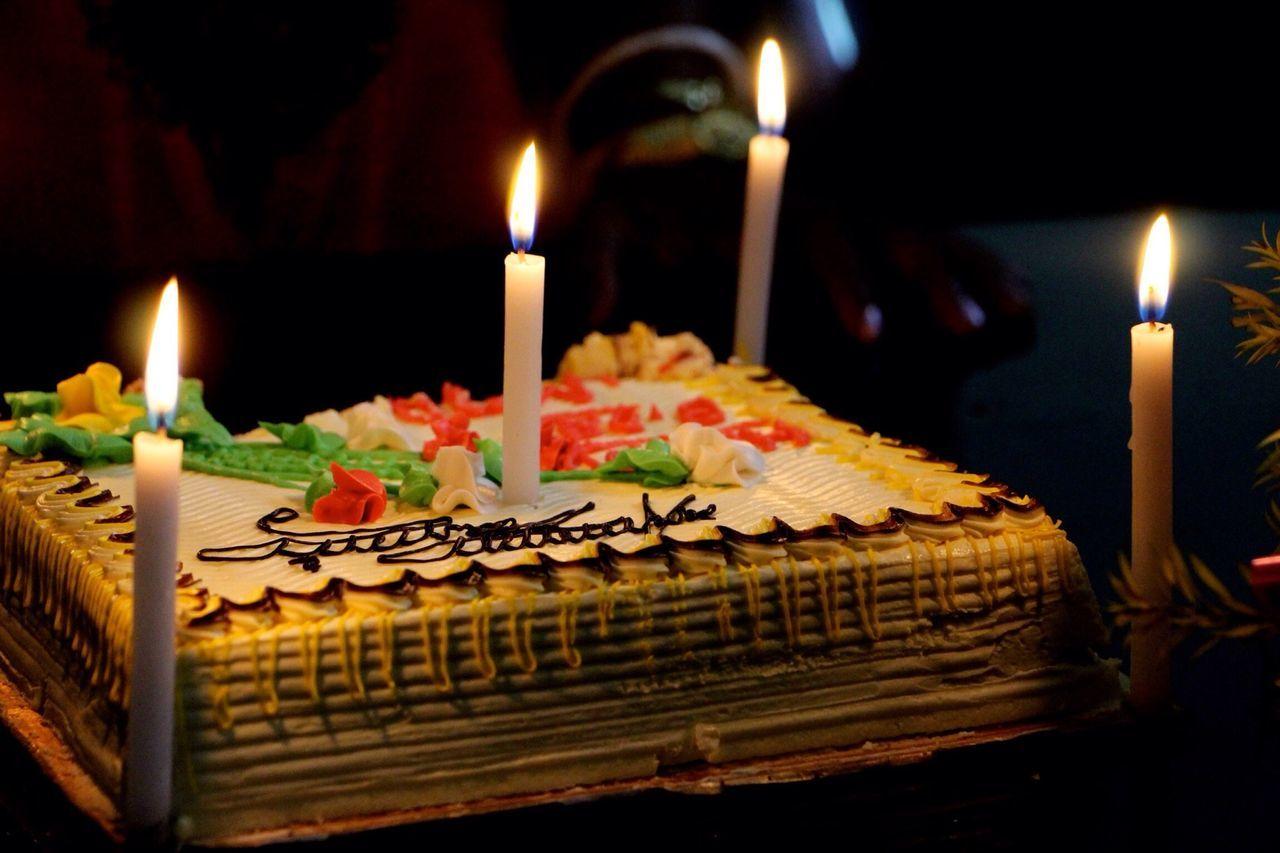 Happy Birthday! Birthday Cake Candels My Smartphone Life The Foodie - 2015 EyeEm Awards