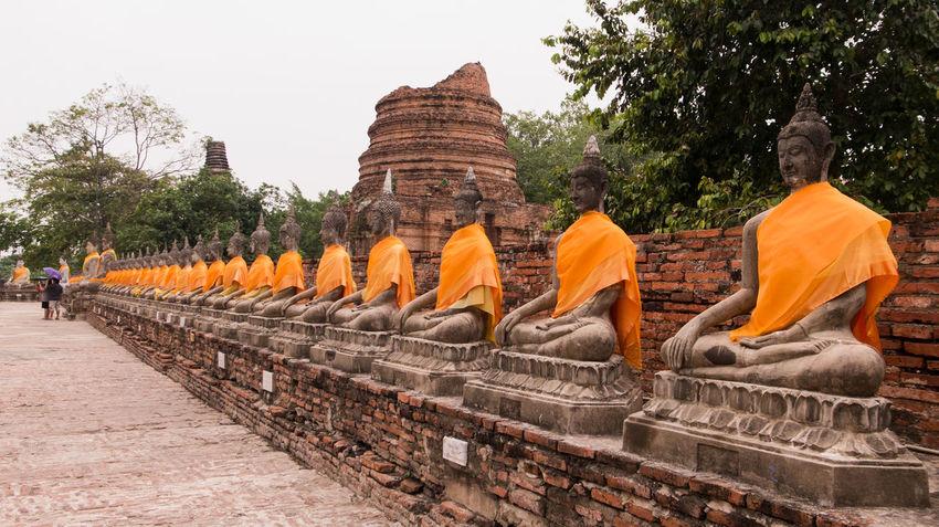Buddah Buddhism Famous Place Religion Religious  Sculpture Spotted In Thailand Temple Temple - Building Thai Temple Tourism