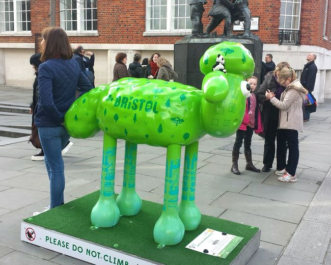 Public Art Sheep Statue