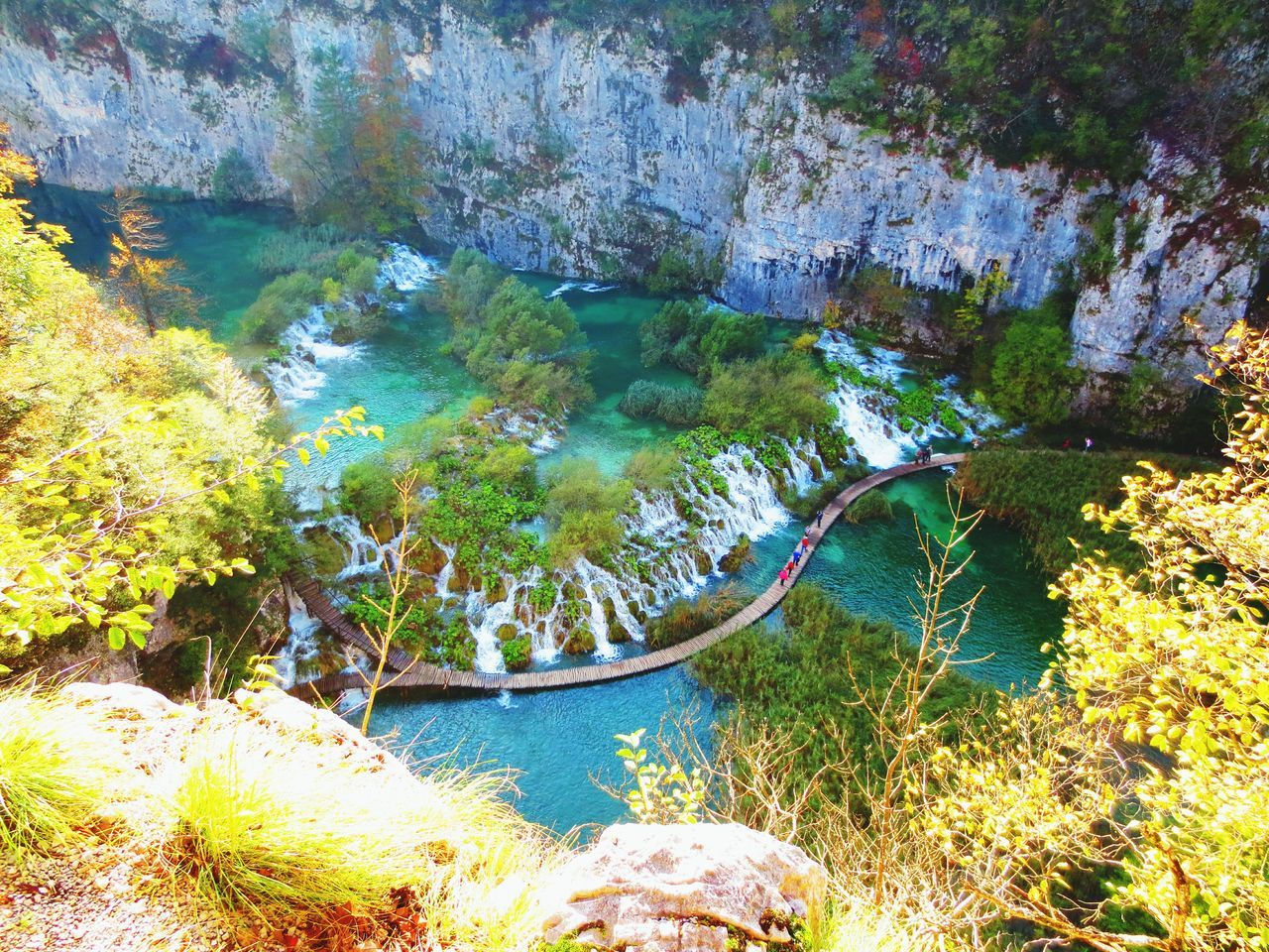Plitvice National Park Wilderness Nature Beautiful Place EyeEm Nature Lover EyeEm Best Shots Edge Of The World