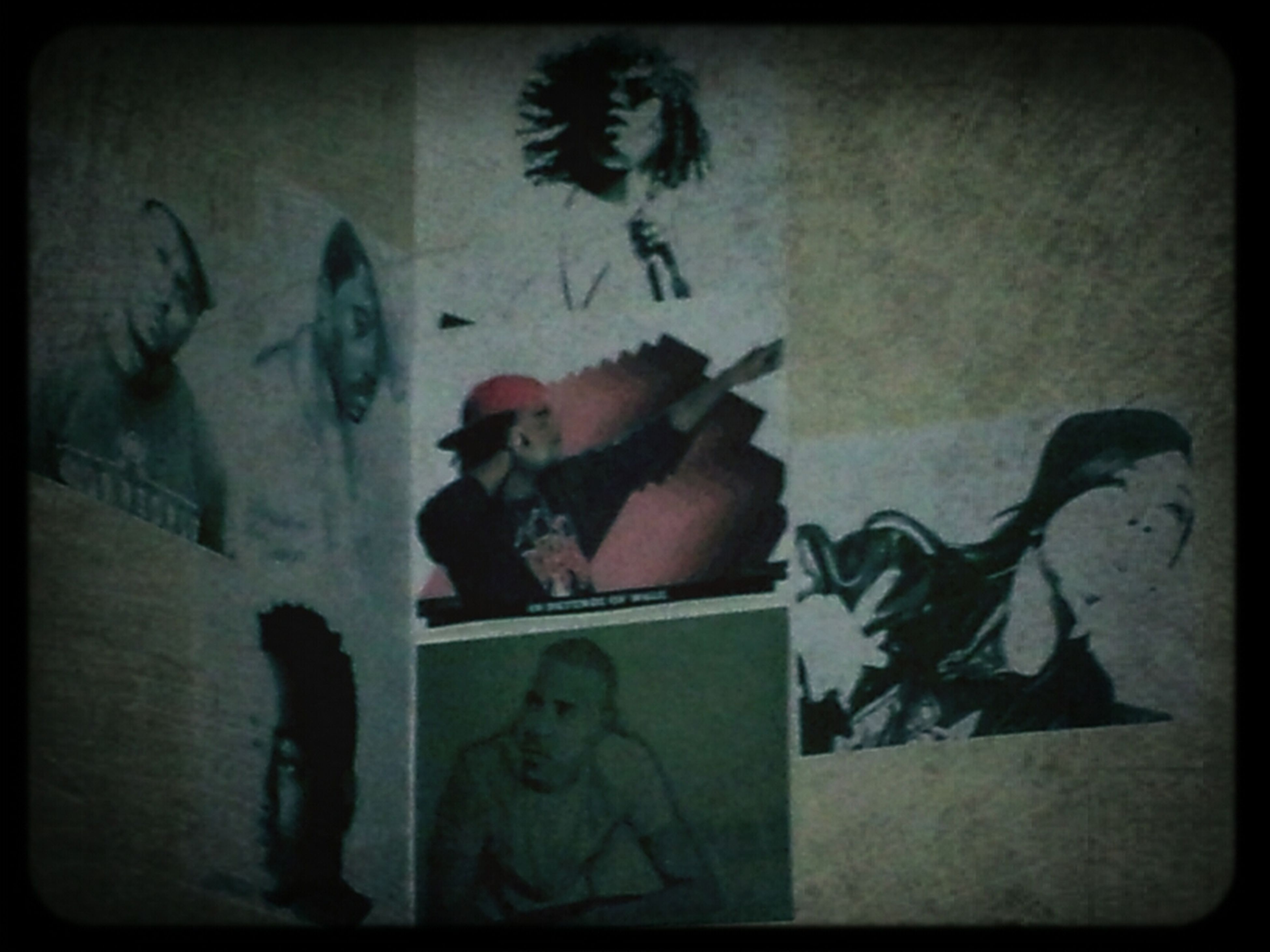 #collage #on #my #wall