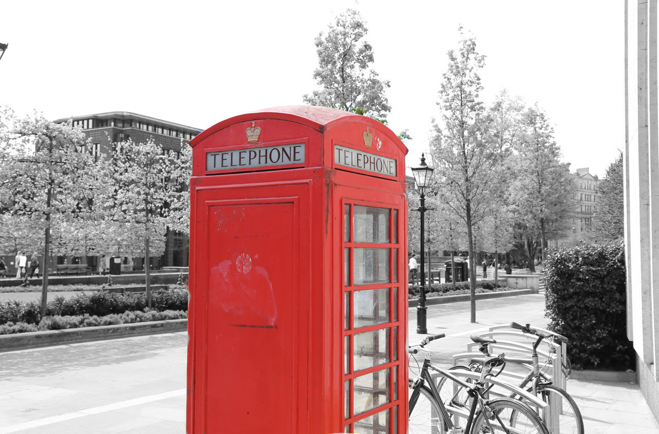 Blackandwhite City City Life Classic Cold Colors Communication Connection Culture London Non-urban Scene Outdoors Pay Phone Red Red Phone Boxes Roadside Snow Street Telephone Telephone Booth Text Tourism Tree London Lifestyle
