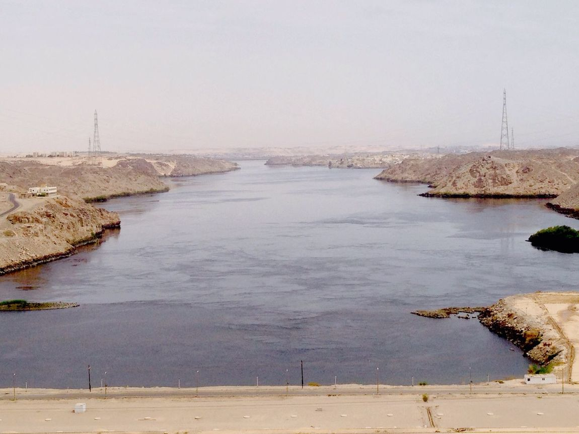 At Aswan High Dam Beautiful view Hello World Check It Out Relaxing The Place I'm Now