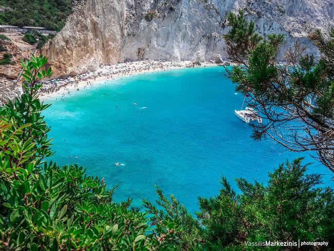 Beach Beauty In Nature Calm Greece Idyllic Landscape Leukada Location Mvphotography Outdoors Porto_Katsiki Sea Summer Tranquil Scene Water
