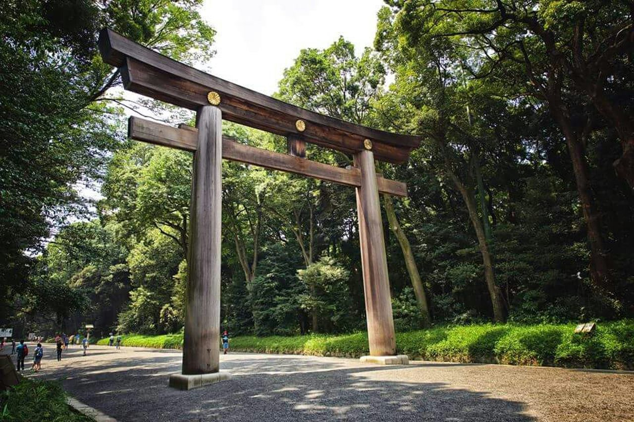 Tokyo Japan Japanese Shrine