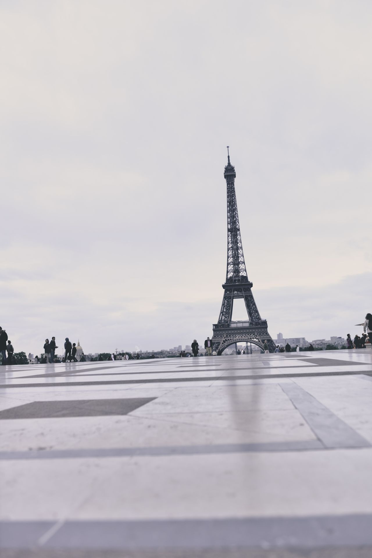 Beautiful stock photos of eiffel tower, Architecture, Black And White, Capital Cities, City