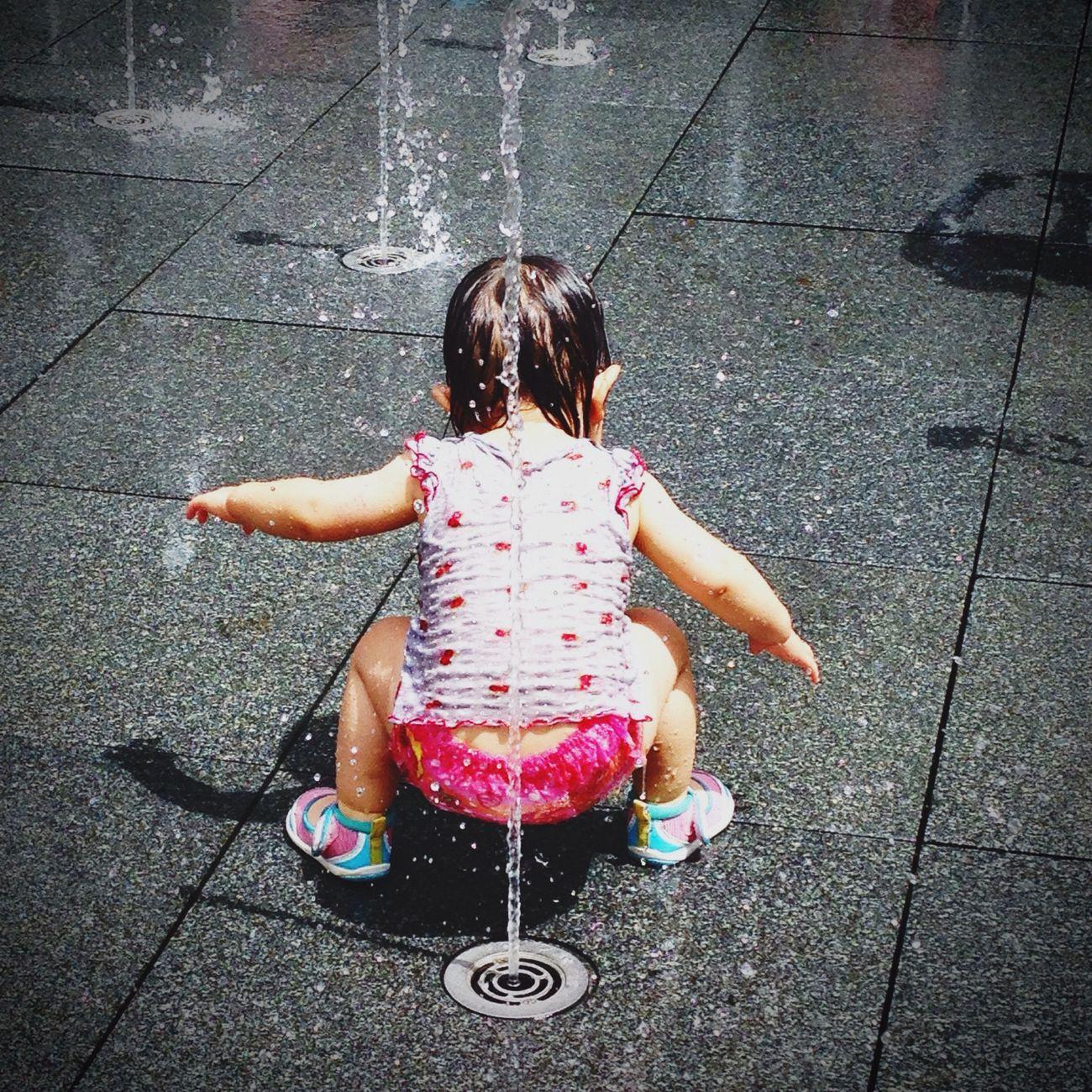 水遊び 夏 Summer Summer ☀ Summer2015 Sunny Day Water ソラマチ スカイツリー