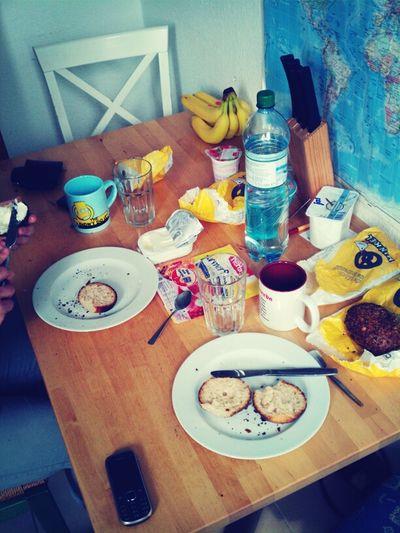 Breakfast Enjoying Life Eat