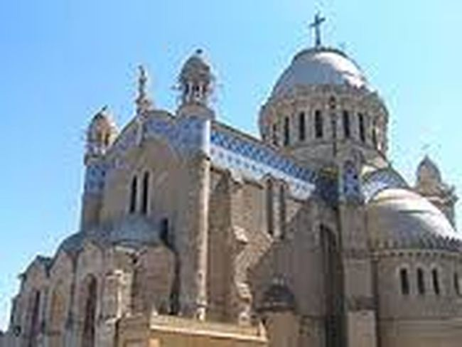 Hello World Taking Photos Cathedral Dame D'Afrique.Algiers.