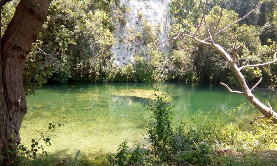 Cavagrande Laghetti Di Cavagrande Sicilia Nature Lake Beauty In Nature Reflection Lake Scenics Freshness Tranquil Scene