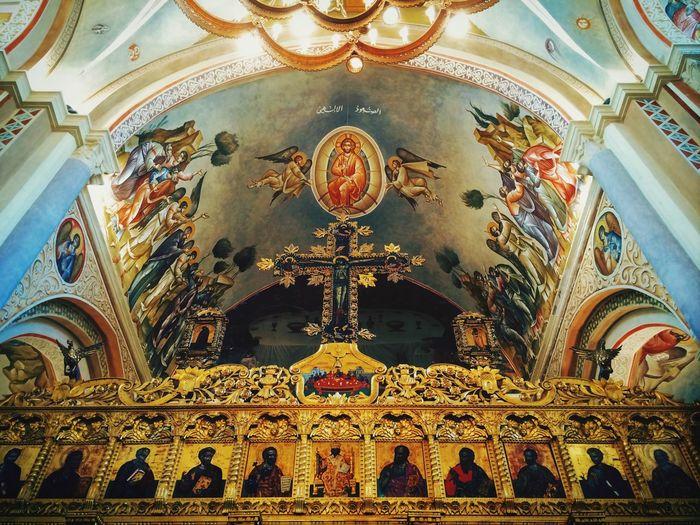 Sunday Mass Easter Traveling Religion