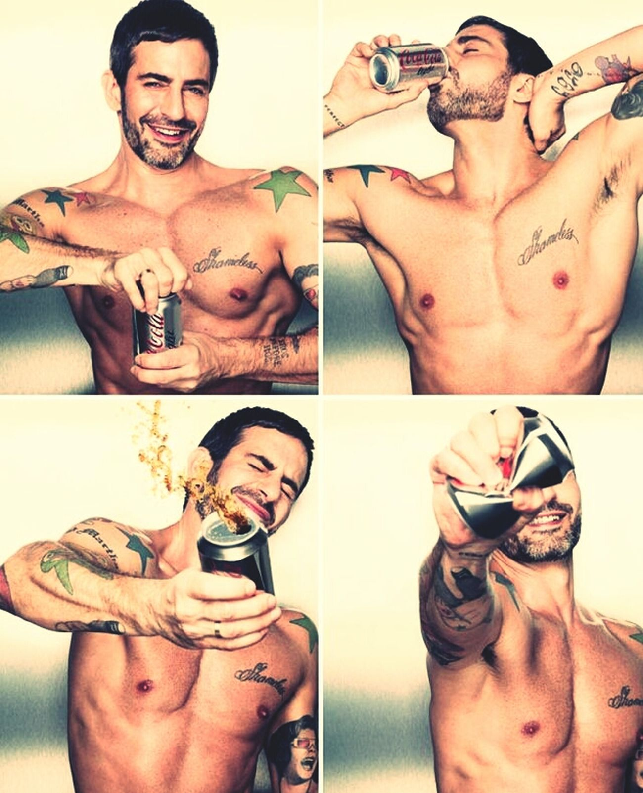 Coca Cola never looked this sexy... Marc By Marcjacobs MarcJacobs Coke Style Cocacola #SexSells #Fit #Icon