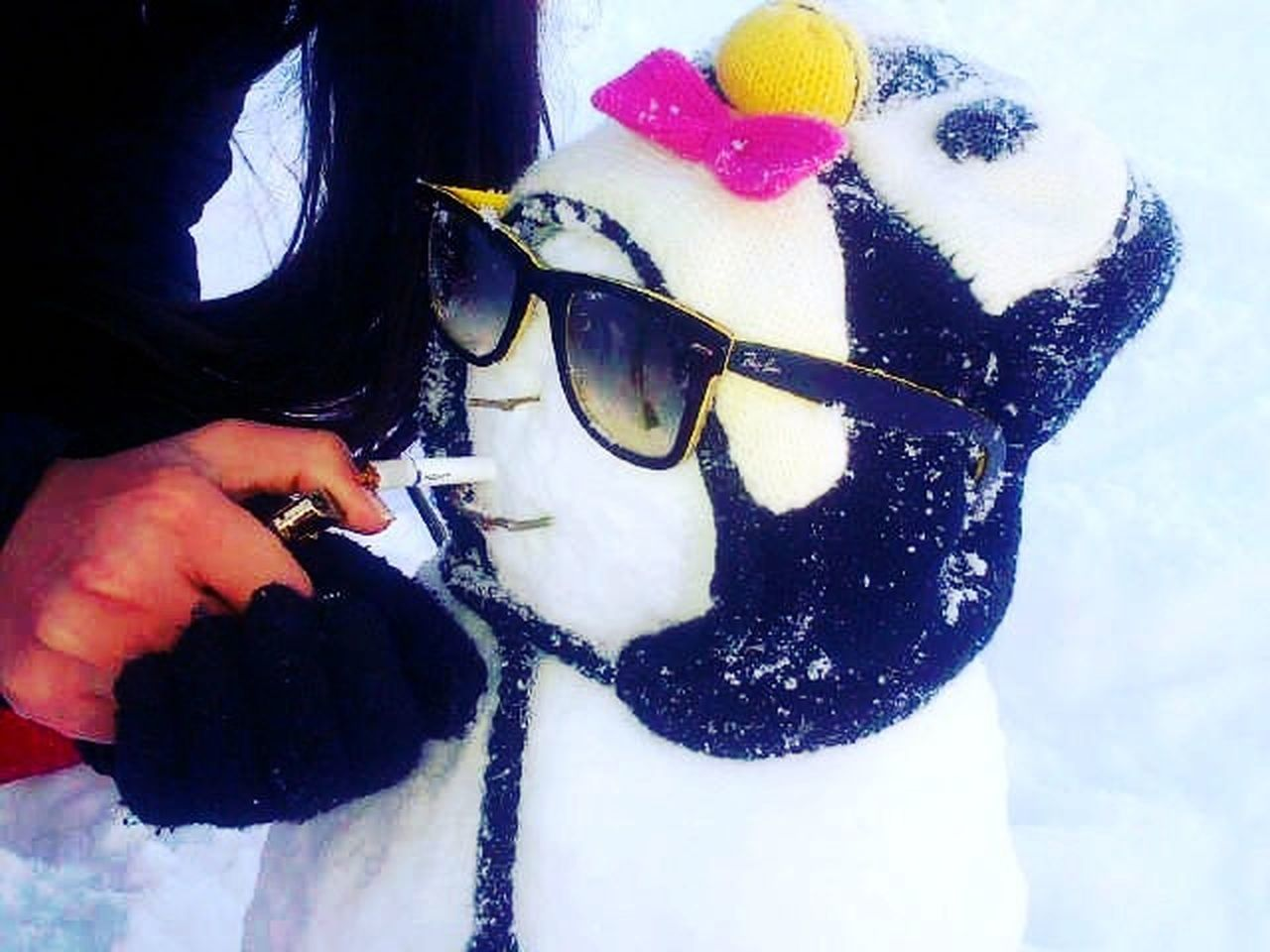 snowman at faraya Snowman