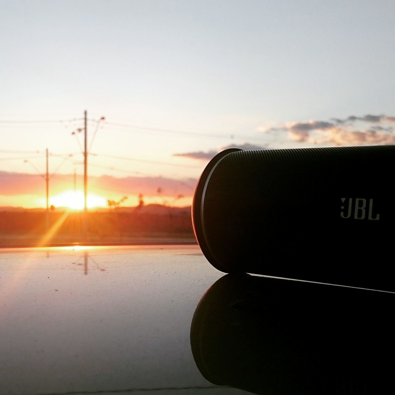 sunset, close-up, no people, sky, focus on foreground, sunlight, transportation, coin-operated binoculars, technology, indoors, day, nature, beauty in nature