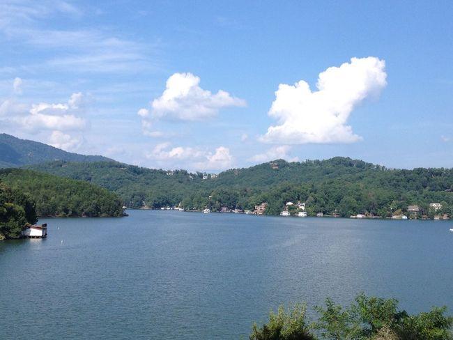 Lake Lake Lure NC Lakeshore Mountain Scenics Tranquility Vacation Western North Carolina First Eyeem Photo
