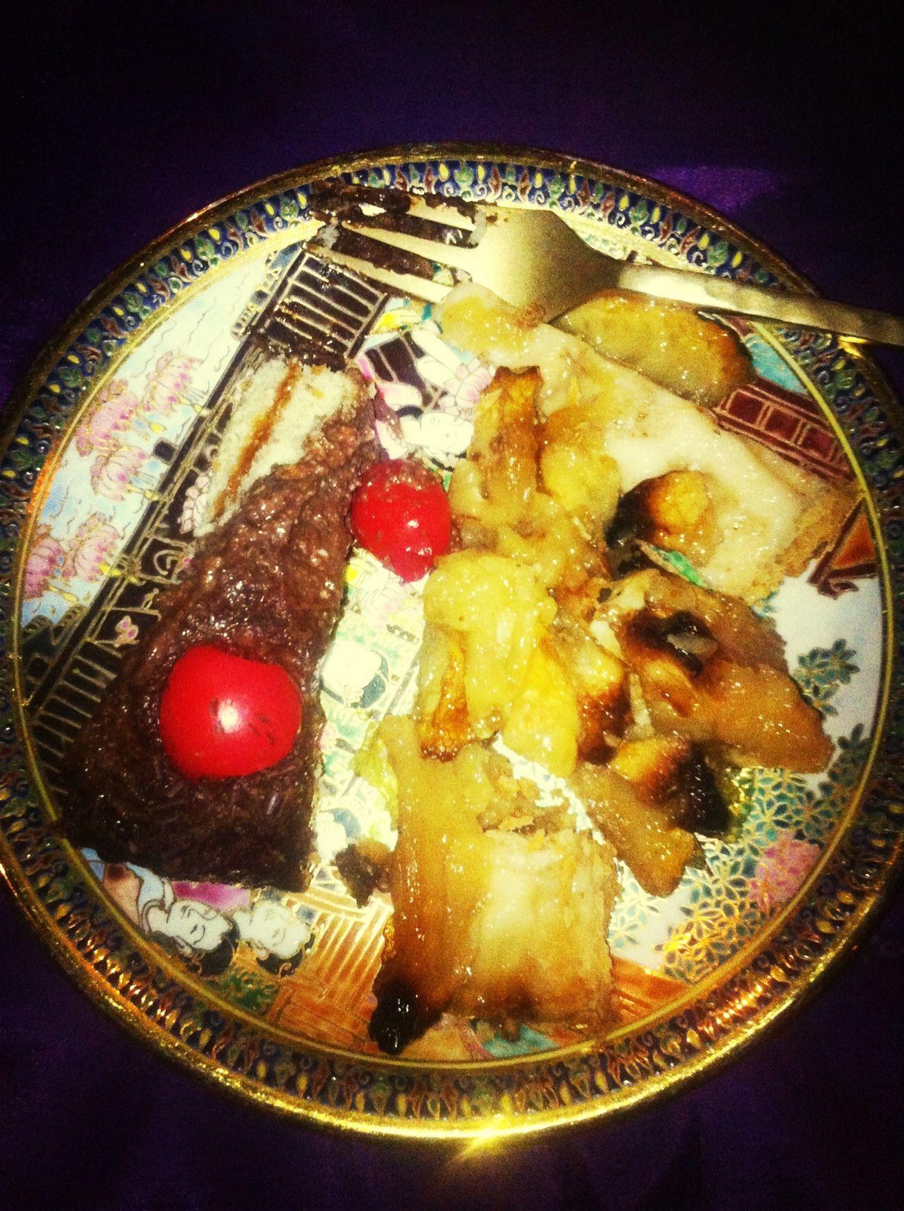 Gateaux Chocolate Tarte Aux Pommes Délicieux