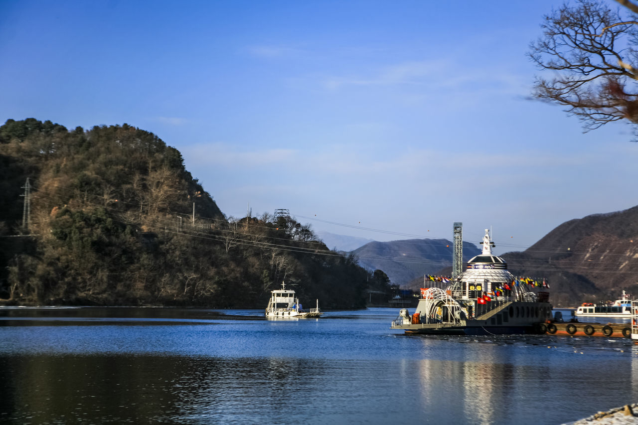 Beautiful stock photos of north korea, Blue, Boat, Calm, Chuncheon