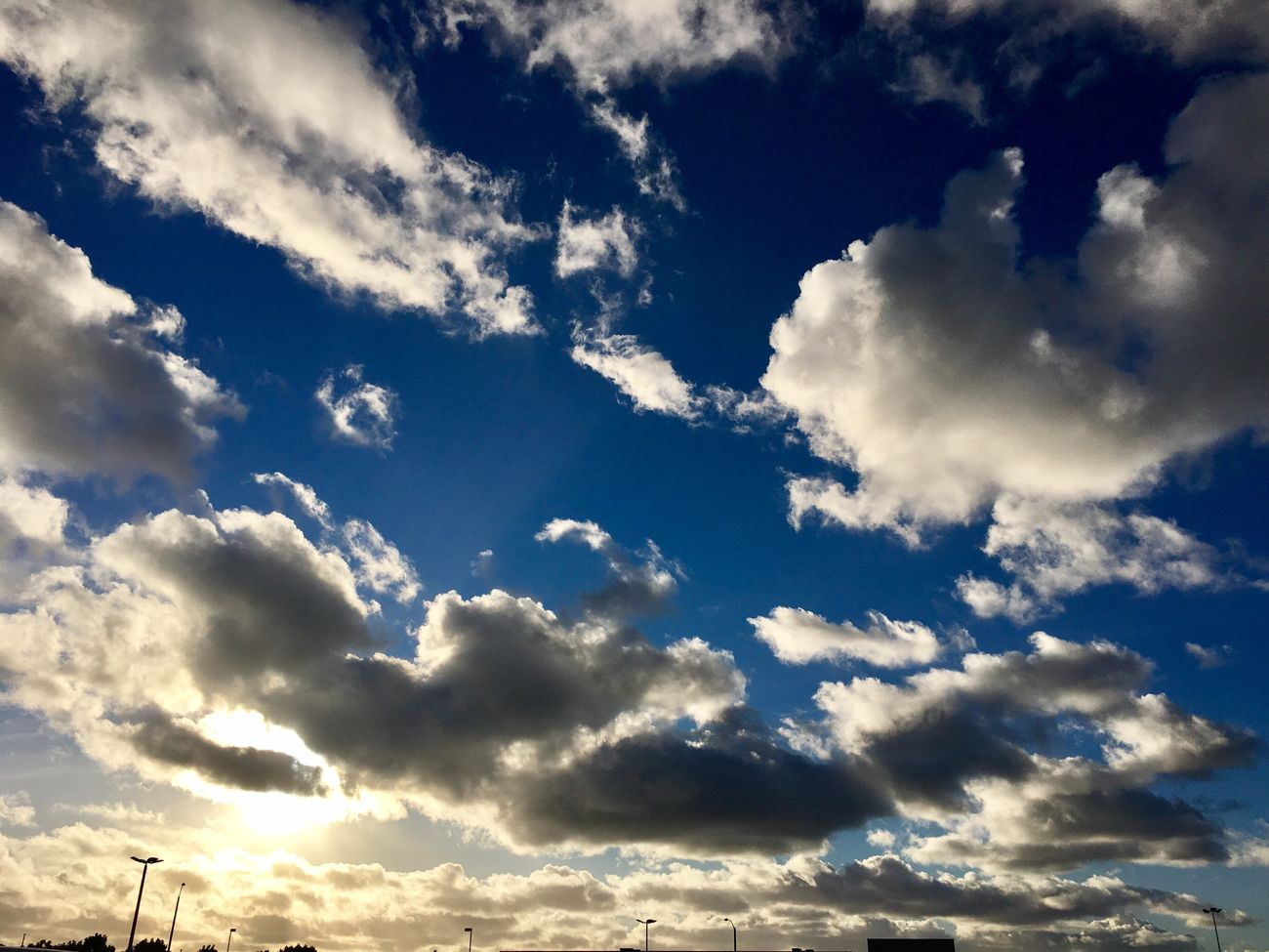 The sky after a nice rain. Cloud - Sky Sky Tranquility Cloudscape Scenics Beauty In Nature Cumulus Cloud No People Backgrounds Tranquil Scene Outdoors Fluffy Sky Only