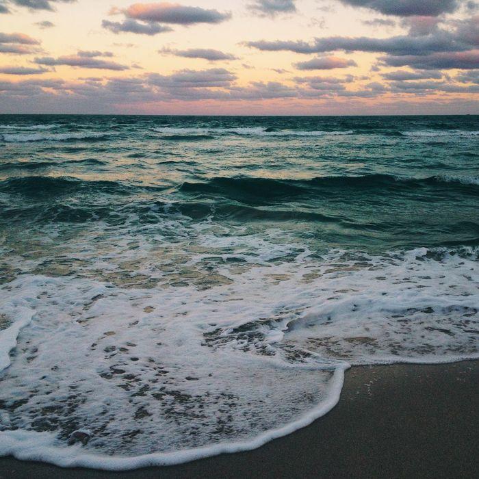 Beach Miami Beach Miami Florida Ocean