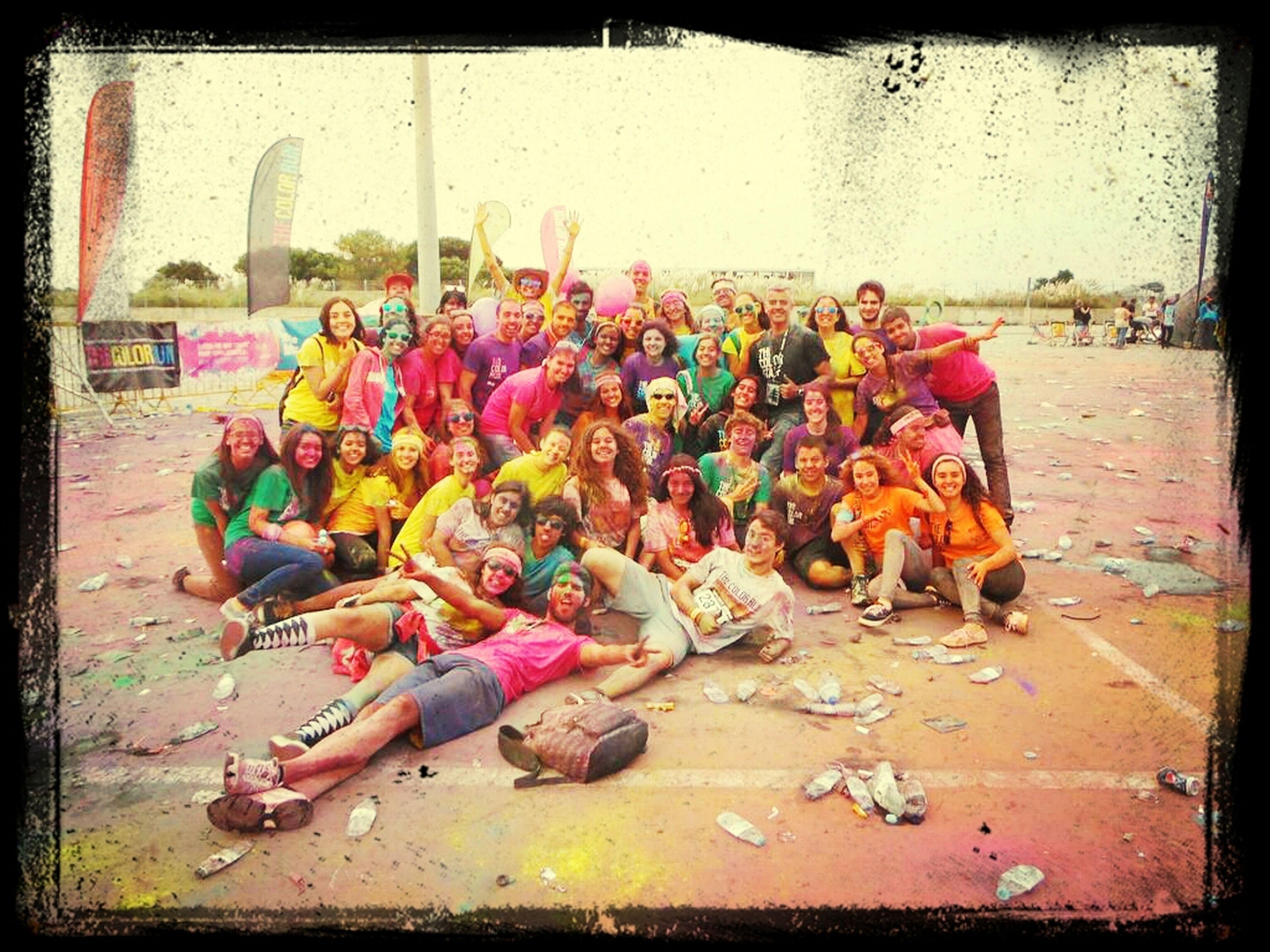 O Voluntariado faz bem ao corpo e à alma The Color Run Projecto Marginal Eyeemporto