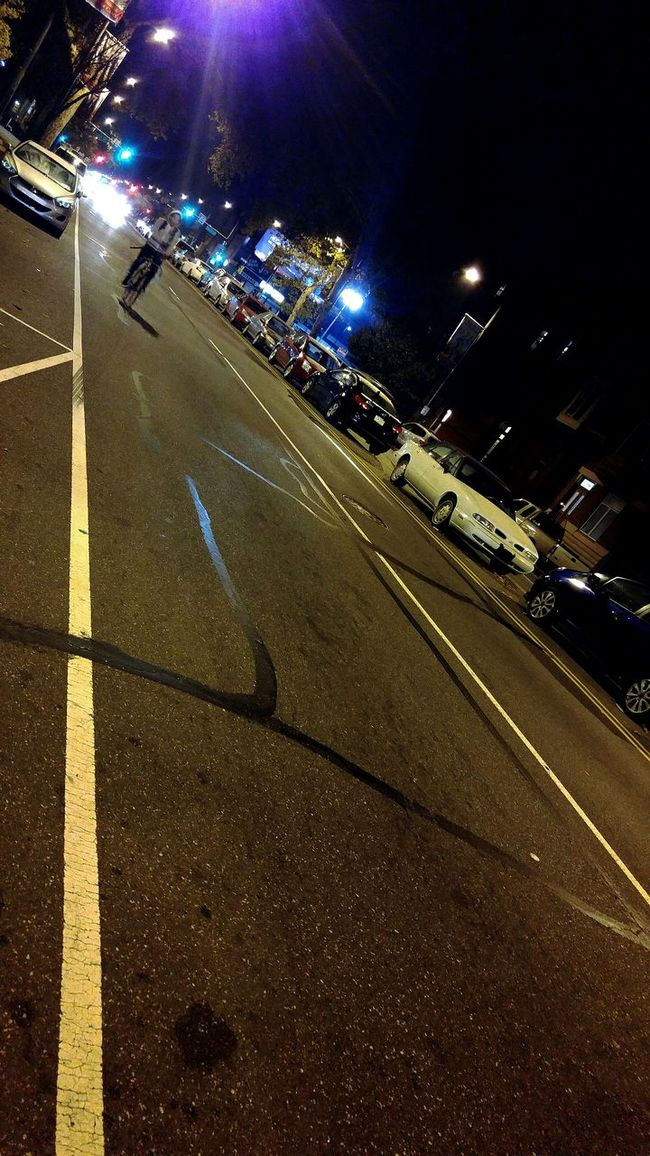 South Philadelphia Street Philadelphia Street Photography Light And Shadow From My Point Of View Night View In South walking to a destination. What place you know you can double park..🚗
