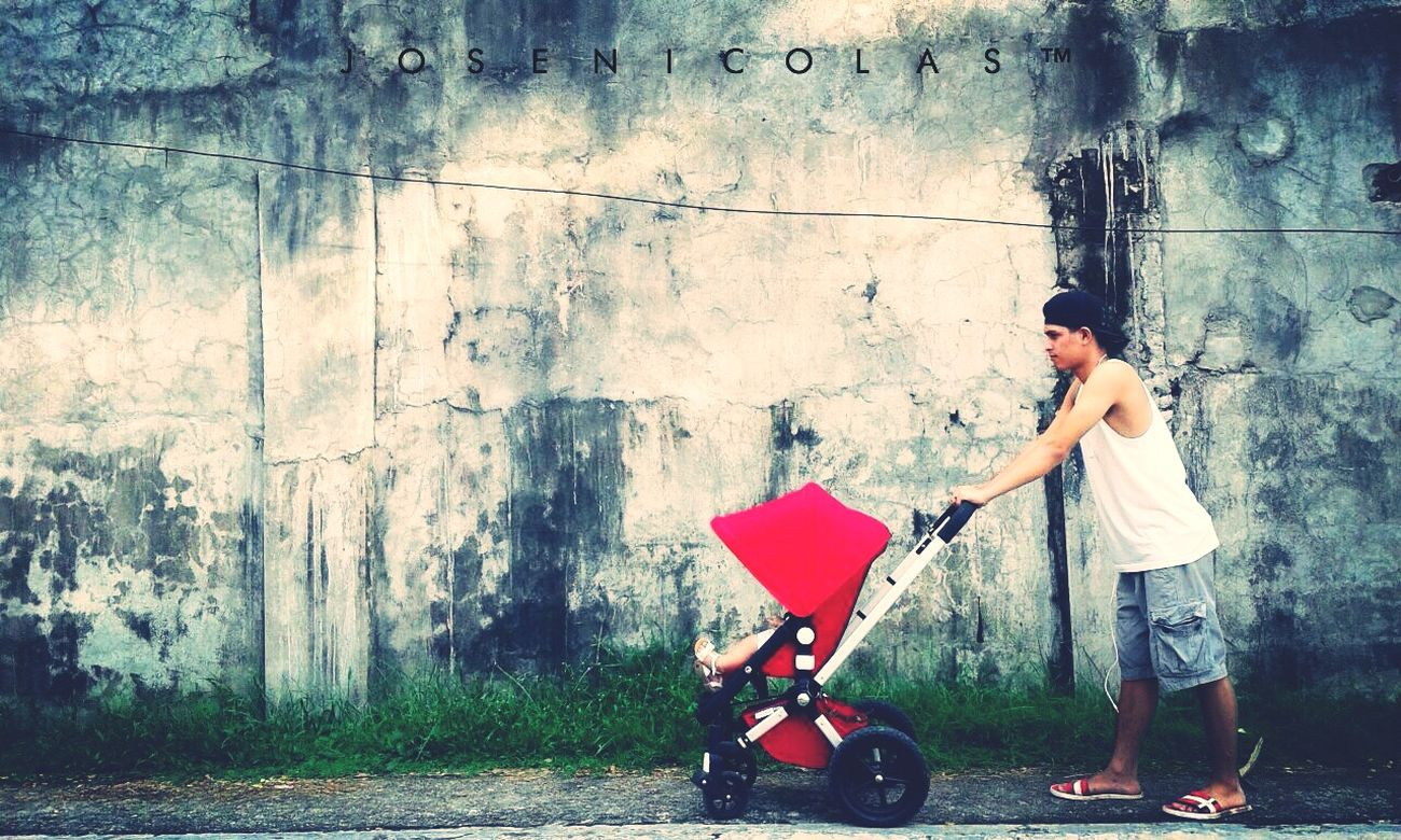 ogether. Love Strolling BoogaBoogaBoogaaaaa Baby Babygirl Pushmoyan Pushing Pushittothelimit Red