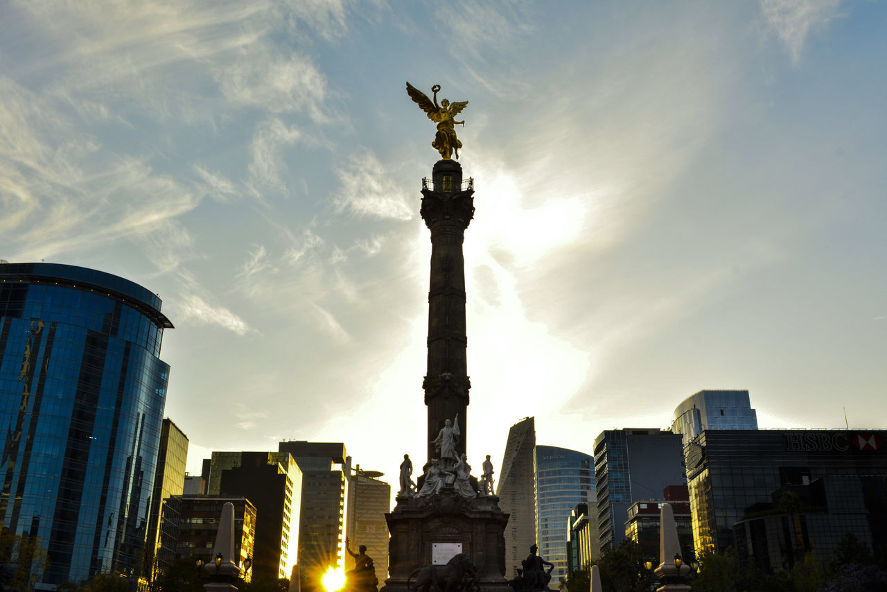 Beautiful stock photos of mexiko, Angel Of Independence, Architecture, Building Exterior, Built Structure