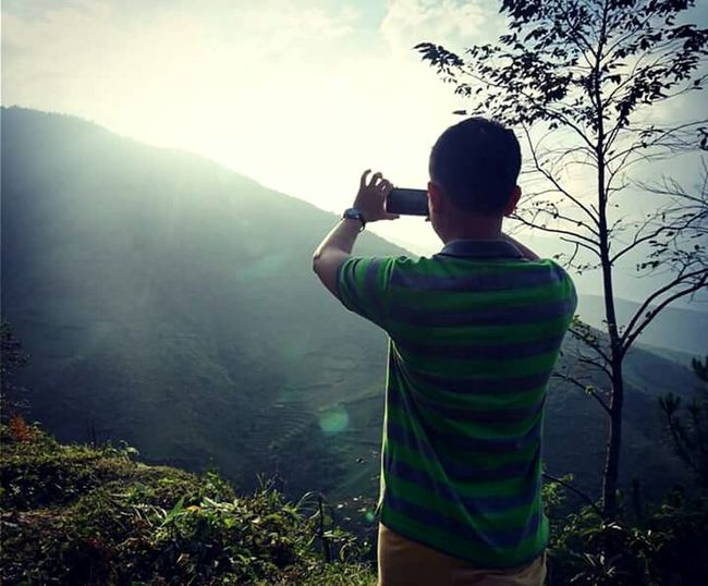 With My Friend Mucangchai Farmlandscape Mountain View Travel Photography October2015 Mucangchai Vietnam Lights Capture The Moment