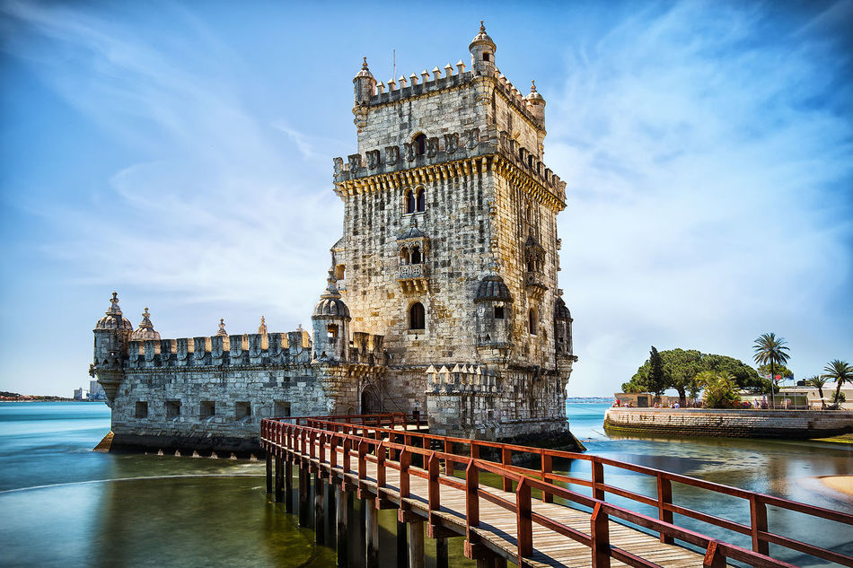 Beautiful stock photos of portugal, architecture, water, travel destinations, building exterior