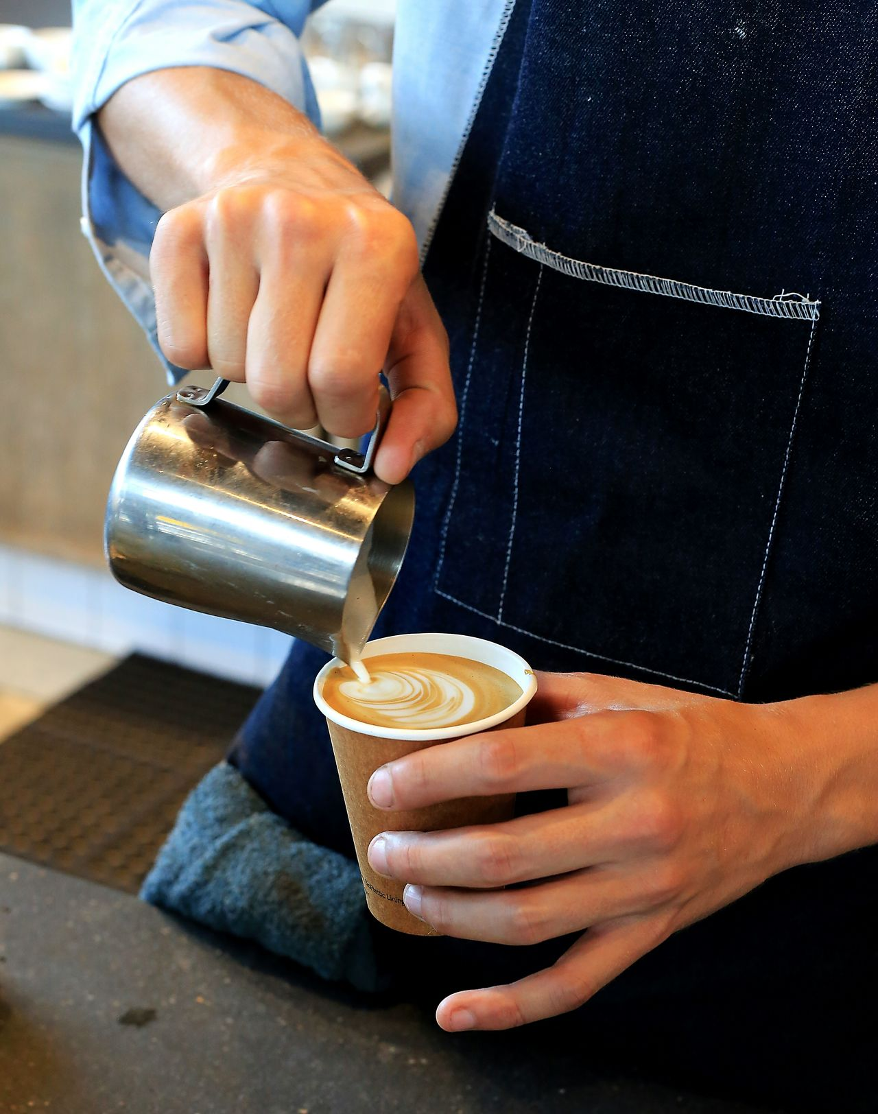 Beautiful stock photos of cup, Barista, Cafe, Cappuccino, Coffee - Drink