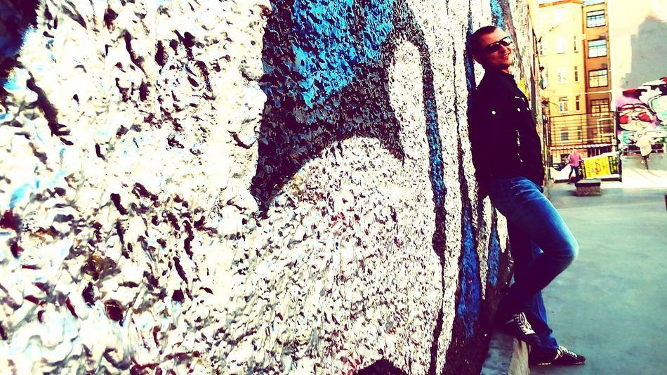 Graffiti Art Model Petrogradka Peterburg