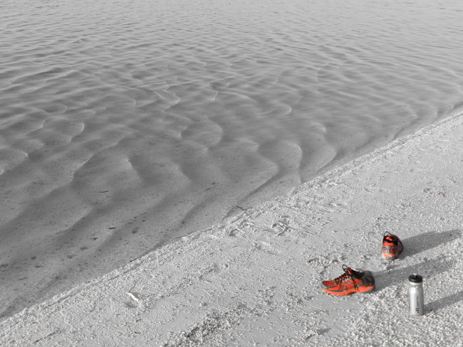 Shelly Beach, Western Australia Beach Beach Photography Black And Red Red Shoes Sand