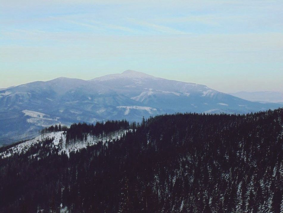Mountains Winter Amazing View Relaxing