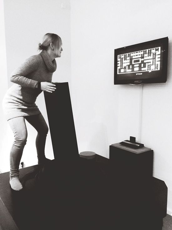 Great Museum Playing Games Pacman_zone