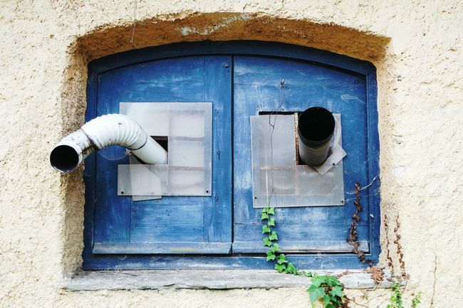 Two holes Closed Built Structure Architecture Door Building Exterior Protection Safety Blue Wall - Building Feature Outdoors Day Green Color Two Is Better Than One Eye4photography  Eyeemphoto Fresh 3 Open Edit Summer Memories 🌄 EyeEm Best Shots