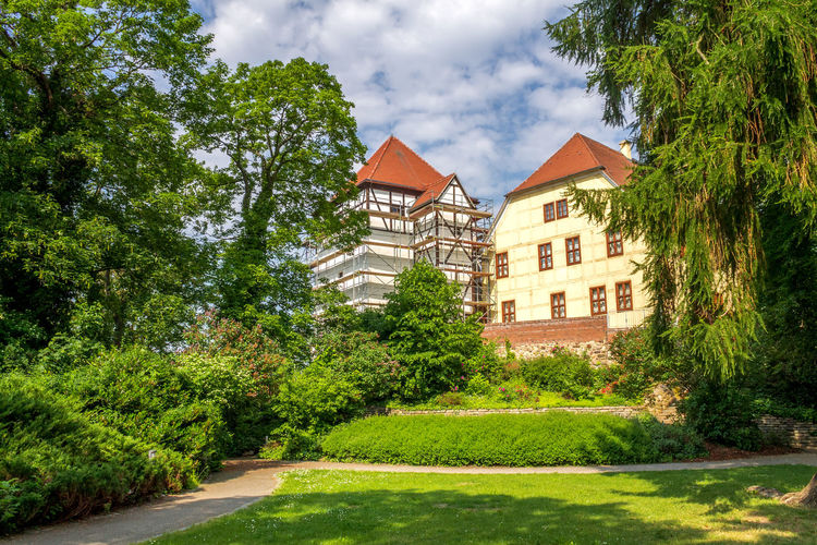 Bad Düben Architecture Bad Düben Castle East Architecture Day Europe Germany House Nature No People Outdoors Saxony Tree