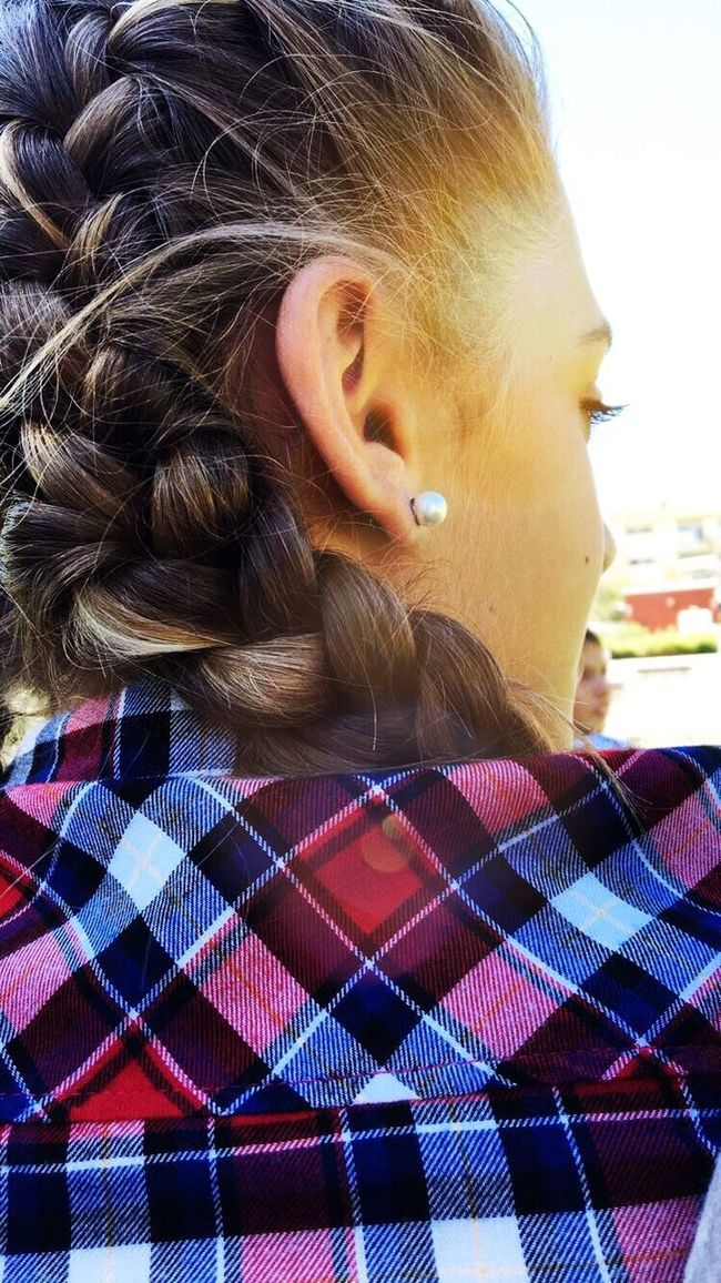 Lovely Braided Hair Hairstyle Hairphotography