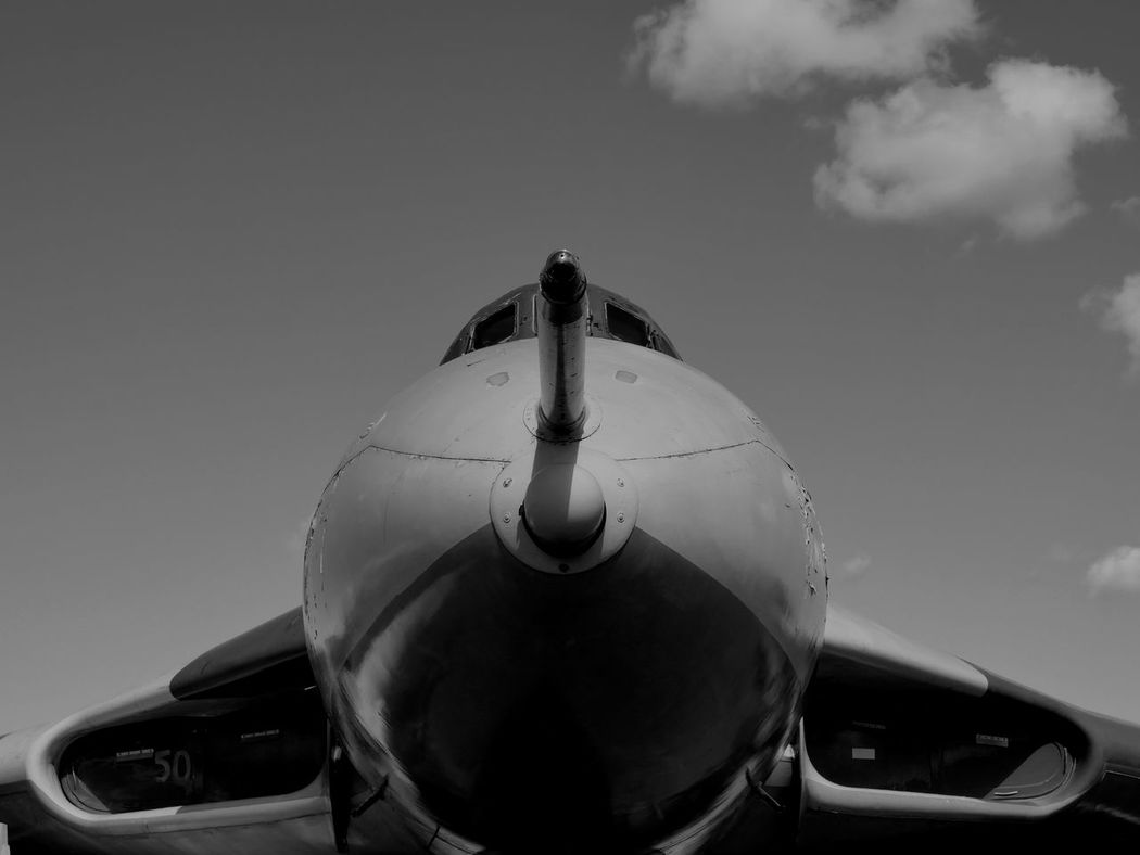 Aircraft Aircraft Wing Black & White Heritage History National Museum Of Flight Raf Vulcan
