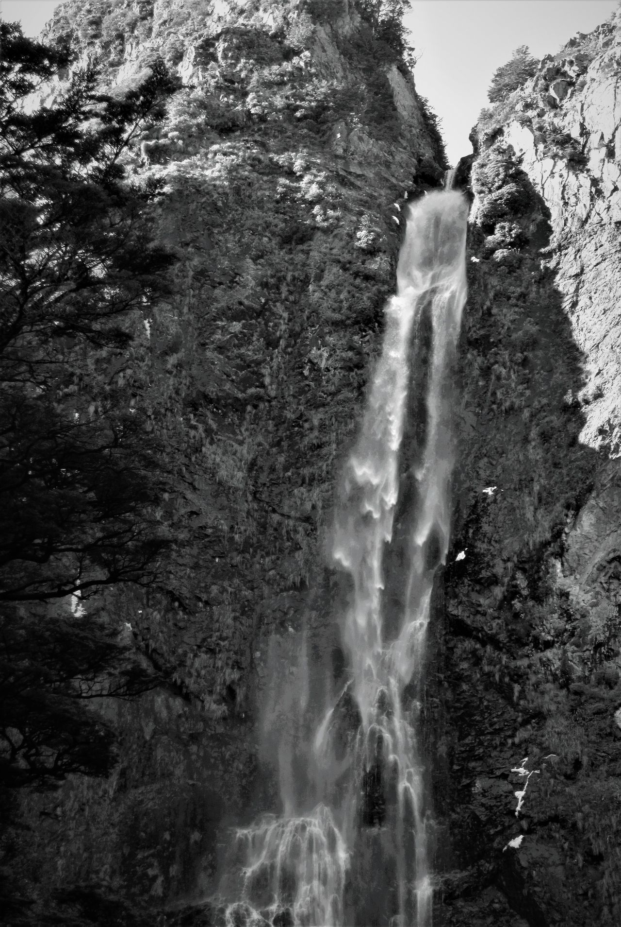 Devil's Punchbowl, Arthur's Pass (Black and White) Arthur's Pass Beauty In Nature Day Devils Punch Bowl Falls Flowing Flowing Water Motion Nature New Zealand New Zealand Beauty New Zealand Landscape New Zealand Scenery No People Outdoors Power In Nature Rock Rock - Object Rocks Rocks And Water Rocky Rocky Mountains Scenics Water Waterfall The Great Outdoors - 2017 EyeEm Awards