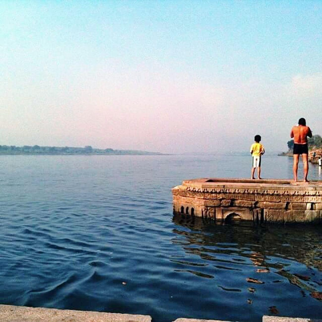 Maheshwar Narmada Ghats  Water