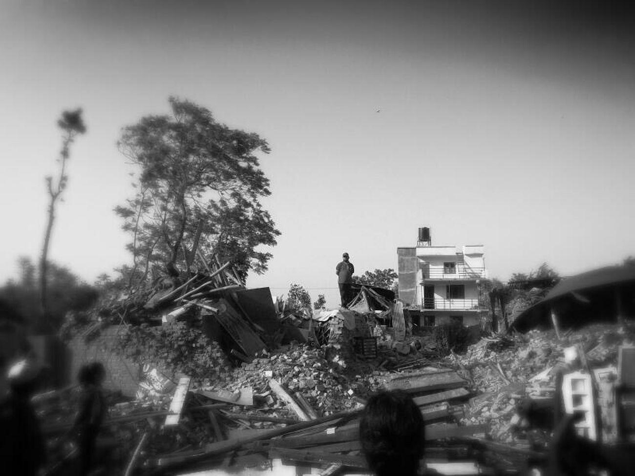 Kirtipur Earthquake _destroy Volunteering Rebuild_nepal