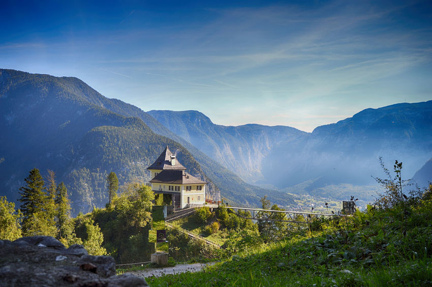 Architecture Beauty In Nature Day Mountain Outdoors Sky Travel Destinations Tree