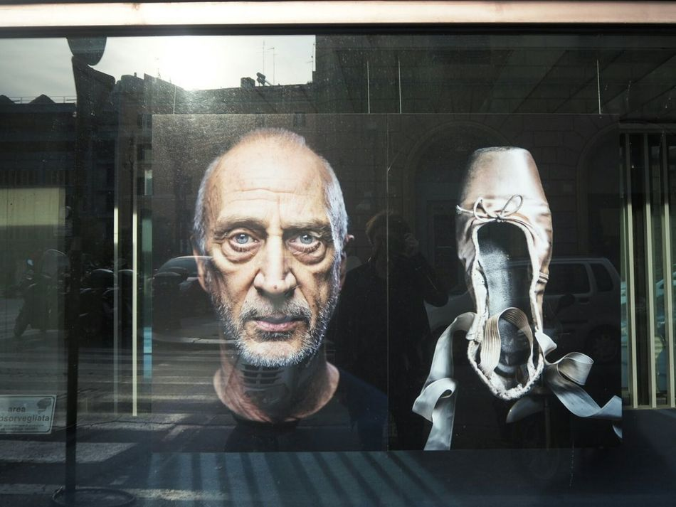 Portrait Human Representation Ballet Shoes Make More Portaits Front View Photo Of A Photo Outdoors Reflection_collection Photography Streetphotography Taking Photos Eyeemphotography From My Point Of View City Millennial Pink Looking At Camera Streetlife
