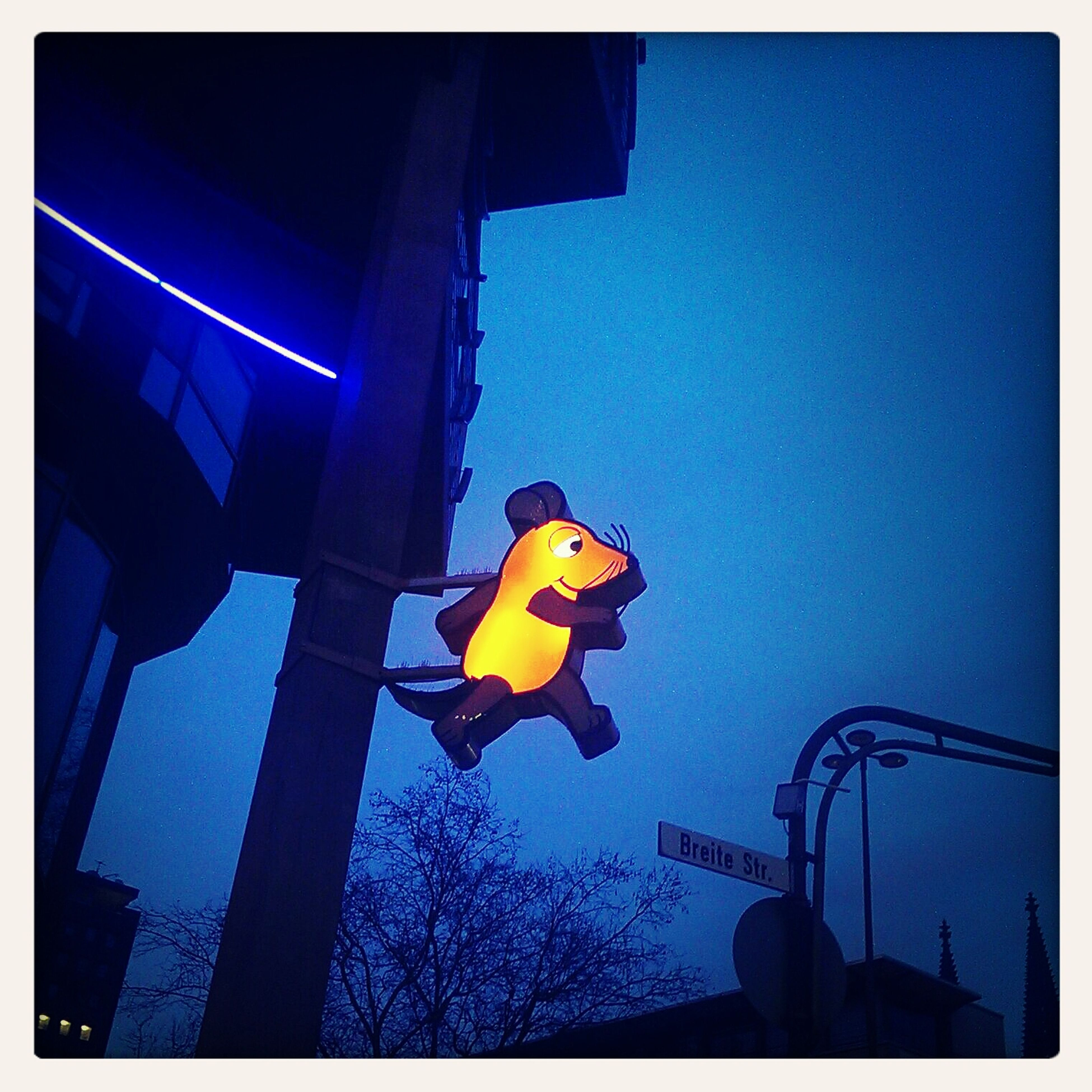 Sendung Mit Der Mause Mouse Night Photography Neon Sign